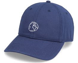 Sport Cap Globe Navy Adjustable - Dedicated