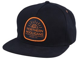 Tent Black/Orange Snapback - Northern Hooligans