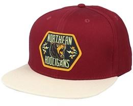 Bears Maroon / Stone Snapback - Northern Hooligans