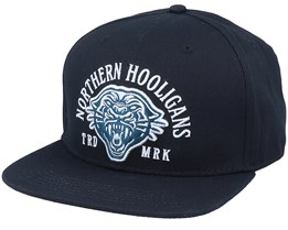 The Mountain Lion Cap Black Snapback - Northern Hooligans