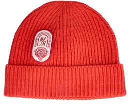 Mountain Beanie Classic Red Cuff - Northern Hooligans