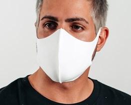 10-Pack Arch White Fashion Mask - Zeri