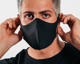 10-Pack Arch Black Fashion Mask - Zeri