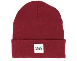 Kiruna Burgundy Beanie - Dedicated