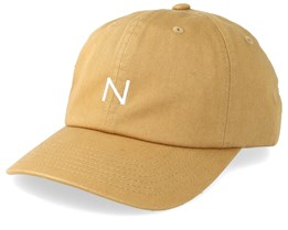 Baseball Cap Honey Mustard Adjustable - New Black