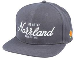 Great Norrland Cap Charcoal Snapback - SQRTN