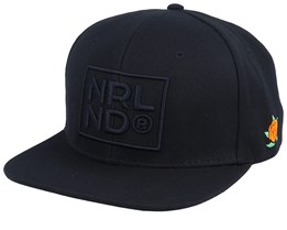 NRLND Black/Black Snapback - SQRTN