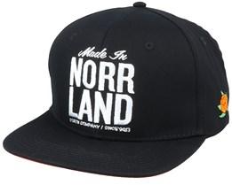 Made In Norrland Black Snapback - Sqrtn