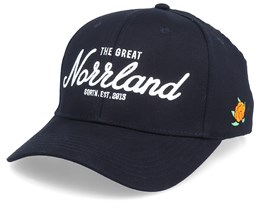 Great Norrland 120 Cap Black/White Adjustable - SQRTN