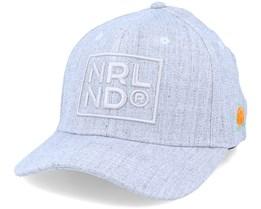 NRLND 120 Cap Heather Grey Adjustable - SQRTN
