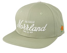 Great Norrland Light Olive Snapback - Sqrtn