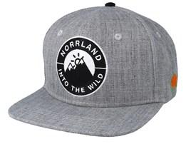 Into Emblem Grey Snapback - Sqrtn