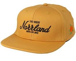 Kids Great Norrland Mustard Snapback - Sqrtn