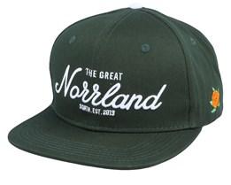 Great Norrland Cap Dark Olive/White Snapback - SQRTN