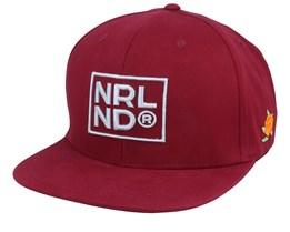 NRLND Maroon/Grey Snapback - SQRTN