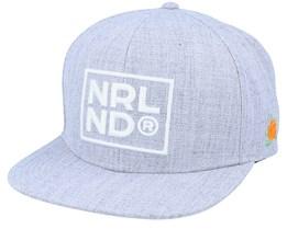Nrlnd Cap Grey Snapback - SQRTN
