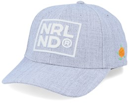 Nrlnd Hooked Cap Heather Grey Adjustable - SQRTN