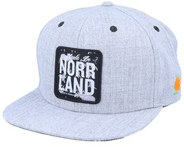 Made In Patch Cap Grey Snapback - SQRTN