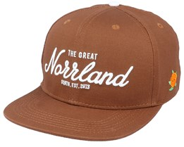 Great Norrland Brown Snapback - SQRTN