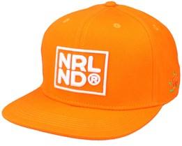 Nrlnd Cap Orange Snapback - SQRTN
