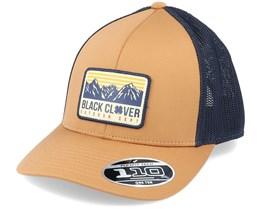 Mountain Top Brown/Navy 110 Trucker - Black Clover