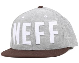 O'Brother Grey Snapback - Neff