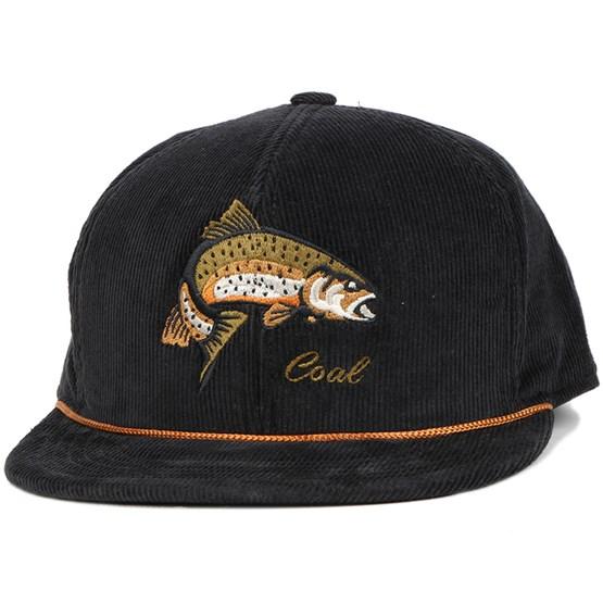 Wilderness Fish Black Snapback - Coal caps - Hatstoreworld.com 29b09f9bcd5