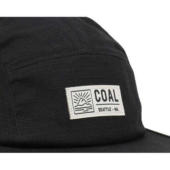 Treck Black 5-Panel - Coal caps - Hatstoreworld.com a9c3dd183bf
