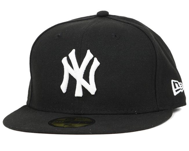 7dc306d2a86 NY Yankees Glow In The Dark Black White 59Fifty - New Era caps ...