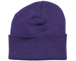 Purple Beanie - Beanie Basic