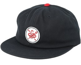 Serpent Black/Red Snapback - Primitive Apparel