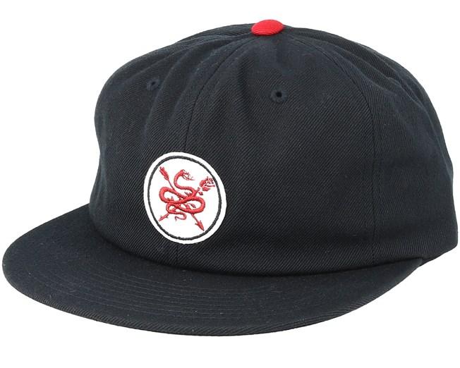 Serpent Black Red Snapback - Primitive Apparel caps  147f9bae4da