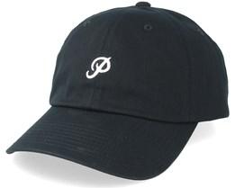 3da3dd7902e Mini Classic P Dad Hat Black Adjustable - Primitive Apparel