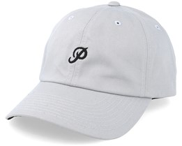 Mini Classic P Dad Hat Grey Adjustable - Primitive Apparel