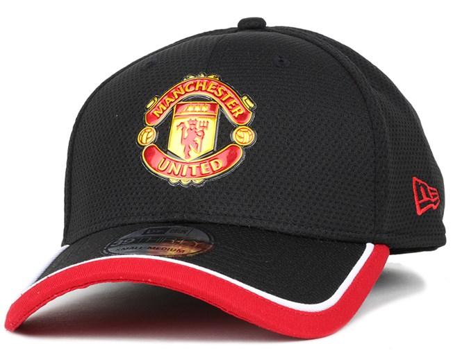 Manchester United Caddy Black Scarlet 39Thirty Flexfit - New Era ... 8d623fc9e5