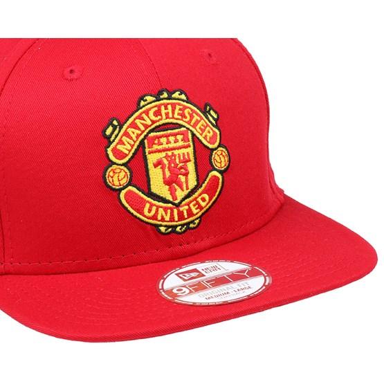 Manchester United Basic Scarlet 9Fifty Snapback - New Era caps ... eaae5a22b7