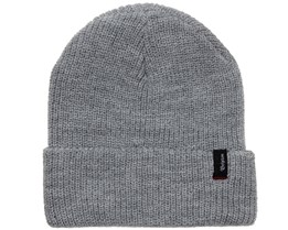 Heist Light Heather Grey Beanie - Brixton