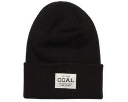 Uniform Black Beanie - Coal