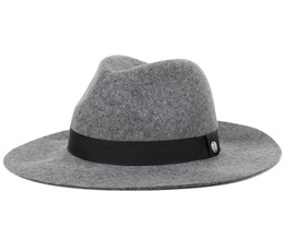 Harmon Heather Grey Trilby - Coal