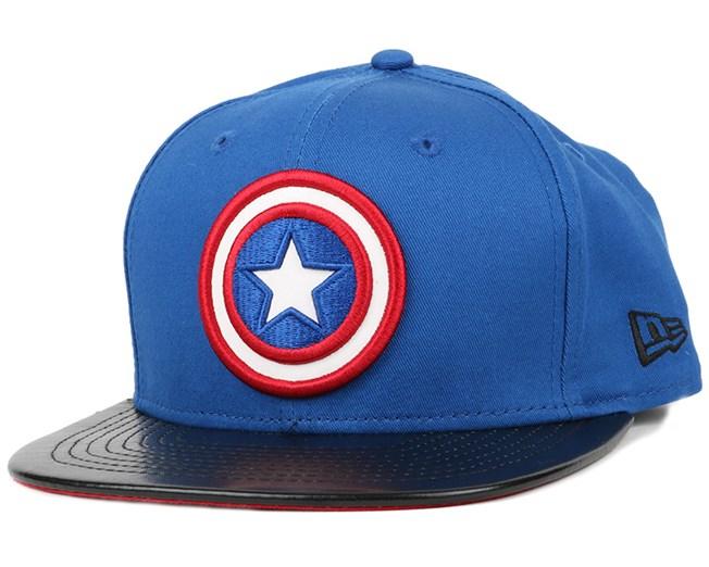 quality design d7713 bc87f Captain America Super Block 9Fifty Snapback - New Era