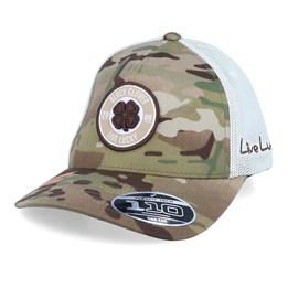 Black Clover Hunt Lucky 20 Adjustable Snapback Hat Camo