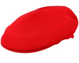 Tropic 504 Ventair Scarlet Flat Cap - Kangol