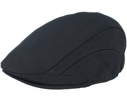 Tropic 507 Black Flat Cap - Kangol