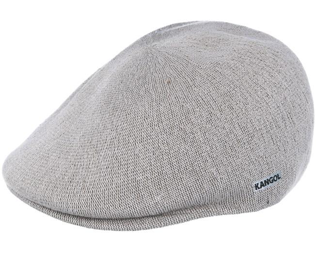 8f69ec3221ce0 Bamboo 507 Grey Flat Cap - Kangol caps - Hatstoreaustralia.com