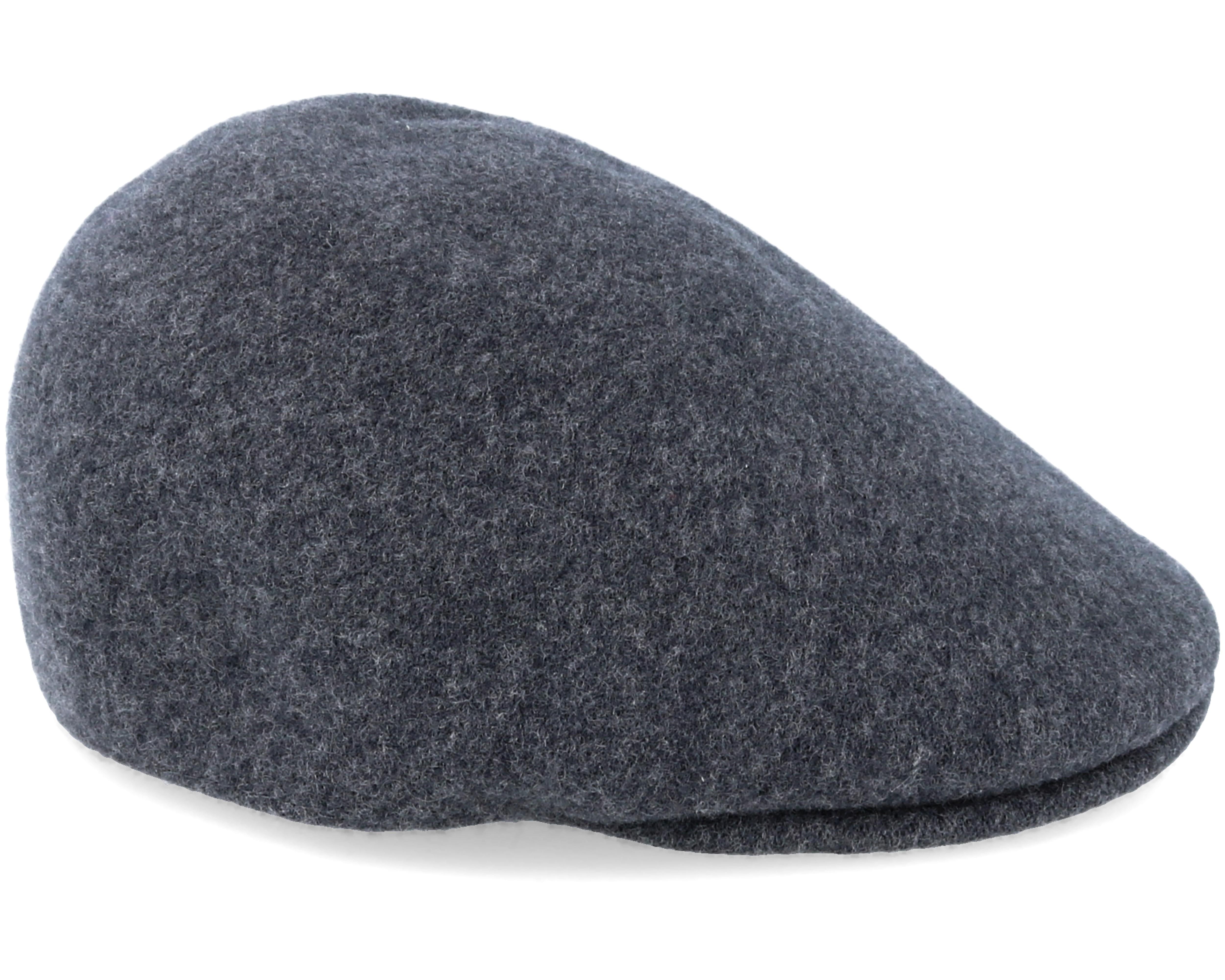 Seamless Wool Flanell Grey Flat Cap Kangol Caps