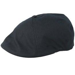 f54003c8f33be Vode Stripe 504 Black/Wood Flat Cap - Kangol caps - Hatstore.no