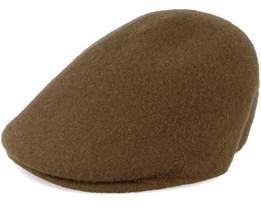 Seamless Wool Flanell Camo Flat Cap - Kangol
