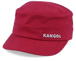 Cotton Twill Army Cap Red Flexfit - Kangol