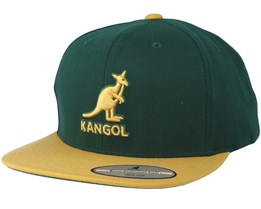 Championship Links Green/Gold Snapback - Kangol