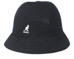 Tropic Casual Black Bucket - Kangol